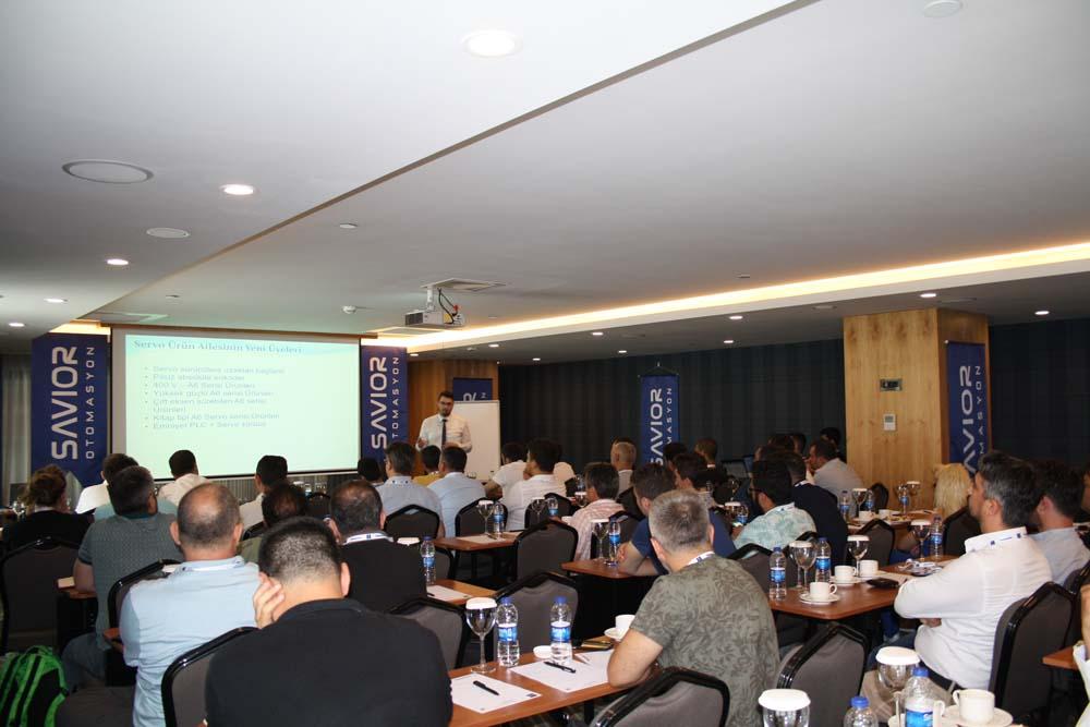 Yeni Panasonic PLC ve servo ürünleri hakkında uygulayıcı ve son kullanıcılara eğitim verildi