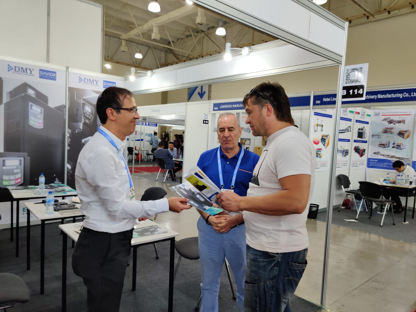 DMY Elektronik Grup Şirketlerinden Savior Otomasyon ve Tescom UPS, Özbekistan'da Düzenlenen OZuPack Fuarına Katıldı.